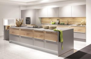 LaserPlus Mineral Grey with Light-Oak Plank 493