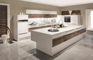 LaserPlus Premium White with Grey Oak Plank 484