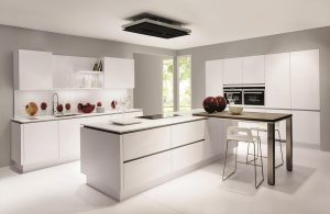 Laser Handleless Premium White Kitchen 411