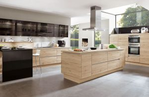 Riva Sanremo Oak with Black Glass 893